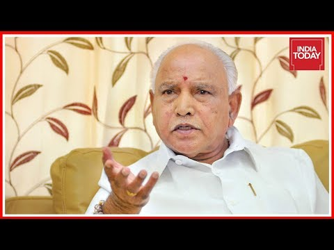 Lingayat Issue Will Boomerang On Congress : Yeddyurappa Exclusive Interview To India Today