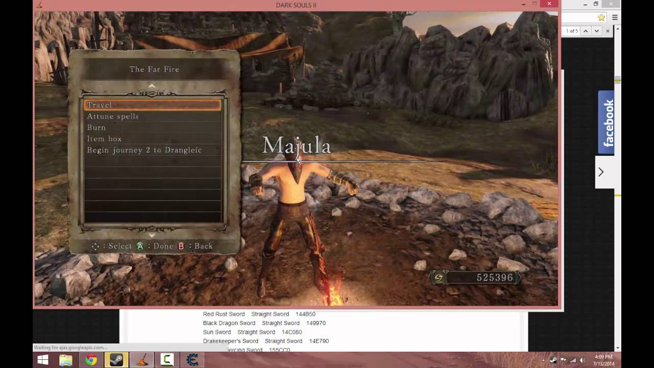 ds2 sotfs cheat table