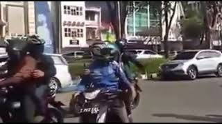 Indonesian street fighter