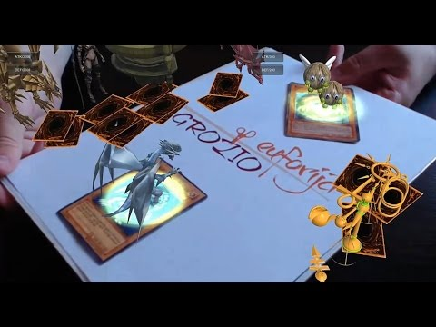 Augmented Reality Tutorial No. 21: Unity3D and Vuforia for MultiTarget Tracking - YuGiOh! Card Game