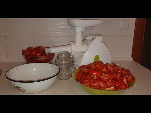 Вопрос: Как приготовить томатный соус?