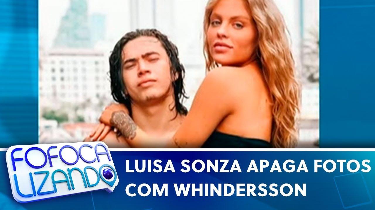 Luisa Sonza apaga fotos com Whindersson  | Fofocalizando (10/05/21)