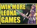 WIN MORE LEONA GAMES IN SEASON 9!  || Leona Coaching Session