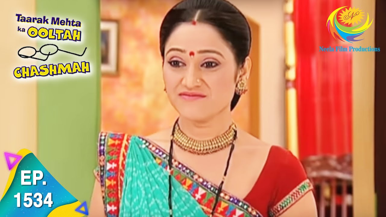 Download Taarak Mehta Ka Ooltah Chashmah - Episode 1534 - Full Episode