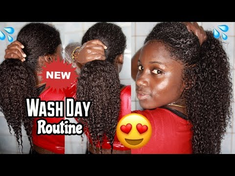 NEW Natural Hair Wash Day Routine  Ft. Shedavi + WEEK IN MY NATURAL HAIR