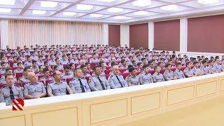 Polis akademiyasında - 15 iyun