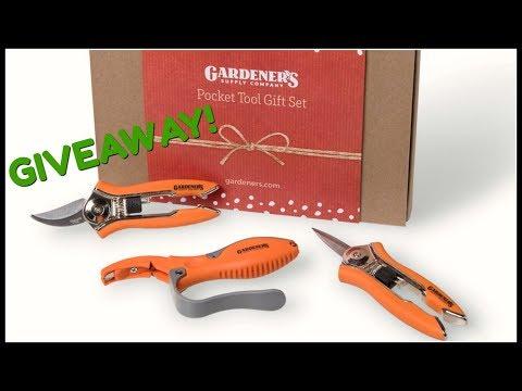 WINNER! Pocket Tool Gift Set-Gardener Supply Company!