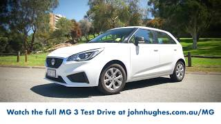 Imagination Media Web | John Hughes Test Drive - MG 3 Promo