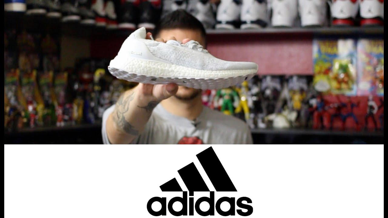 Adidas ultra Boost uncaged triple blanco YouTube