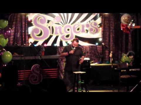 Eric J Stand Up Comedy At Singer's Karaoke Club in Syracuse NY #1