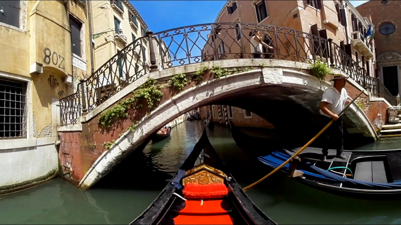 The Second part: 360 Vr video experience in Venice