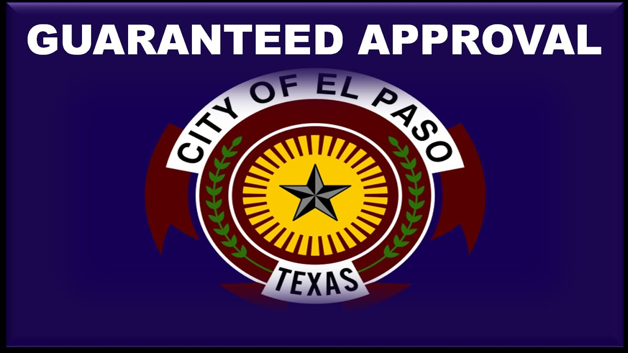 El Paso Tx Automobile Financing Low Rate Car Loans With