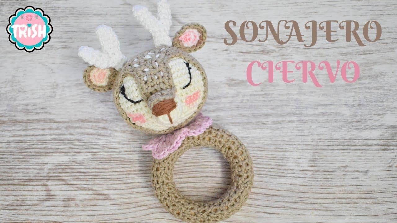Sonajero a crochet de perrito | CrochetyAmigurumis.com | 720x1280