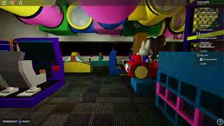 a tour at Chuck E Cheese's Essex, MD in roblox! (Link to the game is in the Disc)