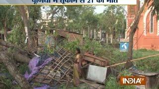 Fierce storm lashes Purnia in Bihar, 21 dead - India TV