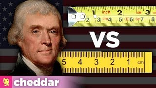 Why Doesn't the US Just Use the Metric System? Cheddar Explains