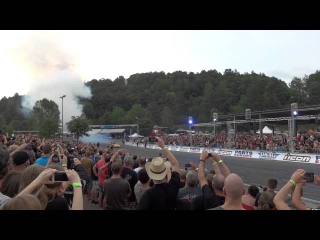 Bike & Music Weekend Geiselwind 2014 - 8000PS Dragster