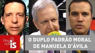 Debate: O duplo padrão moral de Manuela D'Ávila