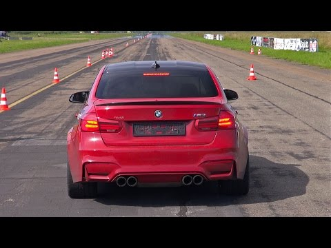 2016 BMW M3 F80 Facelift w/ Akrapovic Straight Pipes Exhaust!