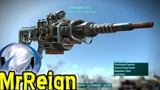 Fallout 4 - EXPERIMENT 18-A - Unique Plasma Gun Location & Showcase