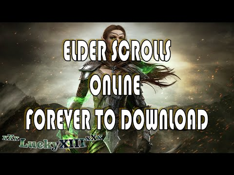 ESO Elder Scrolls Online  Waiting to download