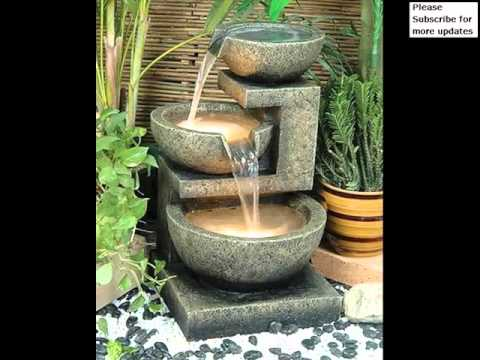 Fountain For Home Garden | Fountains - Outdoor Decor Pictures