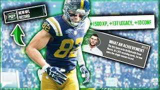 I BROKE TWO NFL RECORDS! Madden 18 Brutally Honest WR Career Ep. 13 (S2)