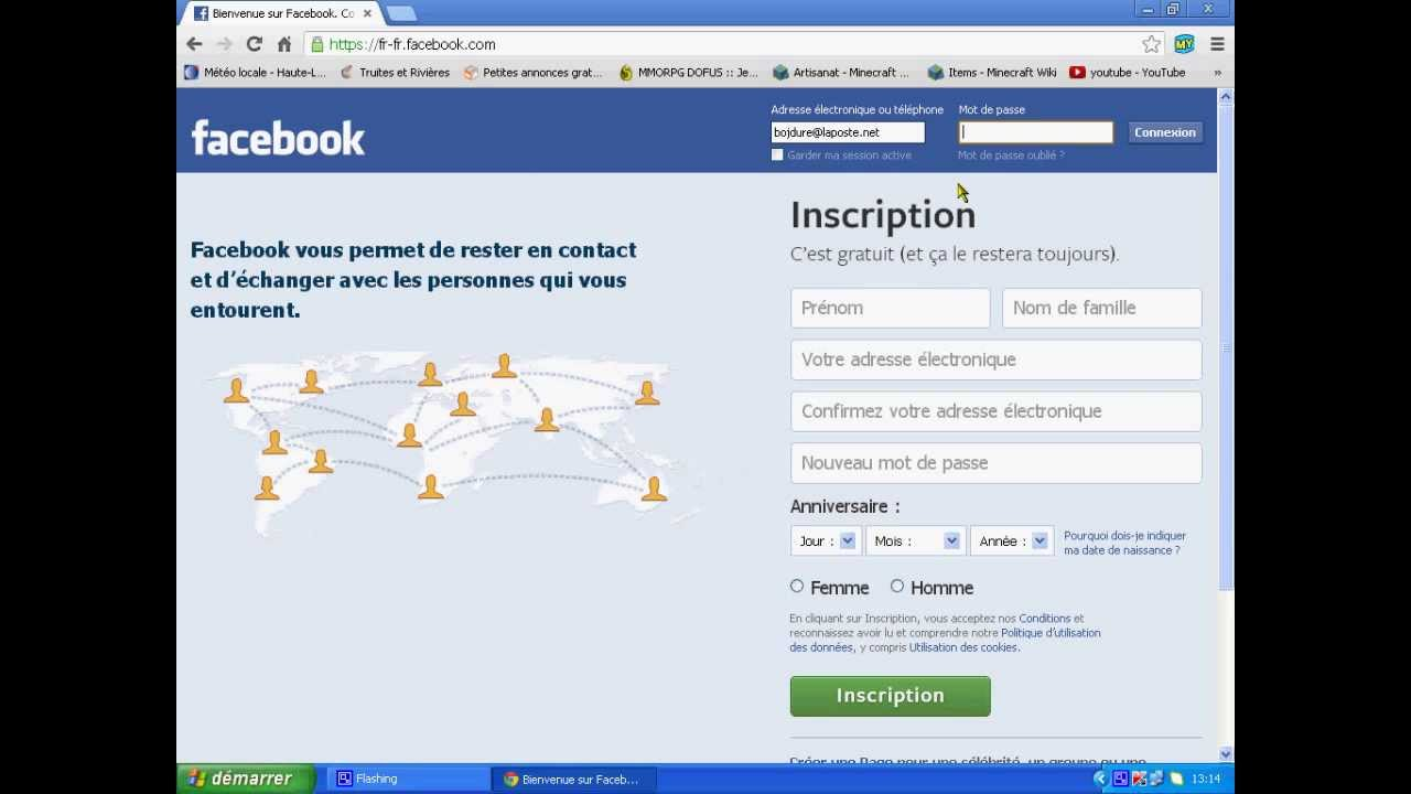 Facebook rapports