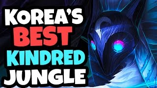 NEW OP?? 70% WIN RATE IN CHALLENGER - Korea's BEST Kindred Jungle - League of Legends