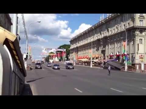 Russian Mafia Government Motorcade