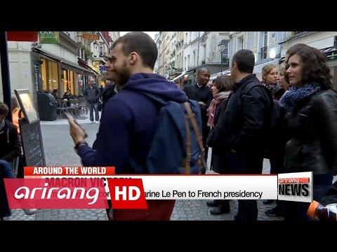 Emmanuel Marcon beats Marine Le Pen to French presidency