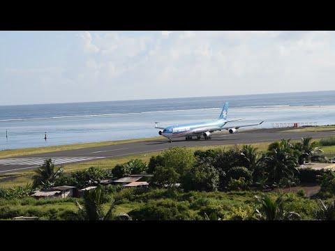 Air Tahiti Nui. Décollage. 07h50. 19/09/2016