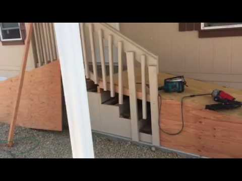 Wood Wheelchair Ramp Installation by Crown Construction / FREE ESTIMATES / 818-974-3210
