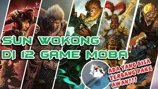 Aksi Sun Wukong di 12 Game MOBA