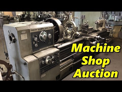 Machine Shop Auction: Preview Day