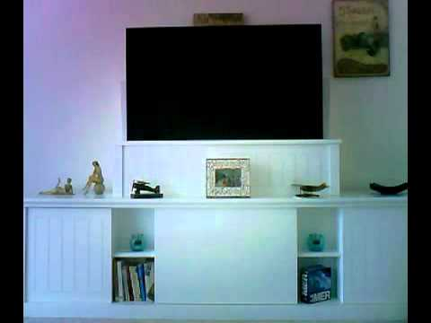 leve ecran plat electrique youtube. Black Bedroom Furniture Sets. Home Design Ideas