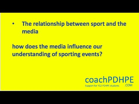 effects of media on sport