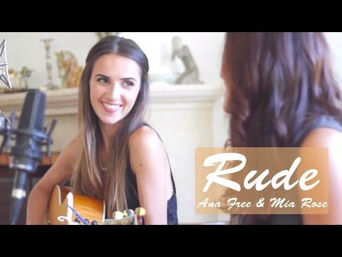 Rude - Magic! cover by Ana Free ft. Mia Rose