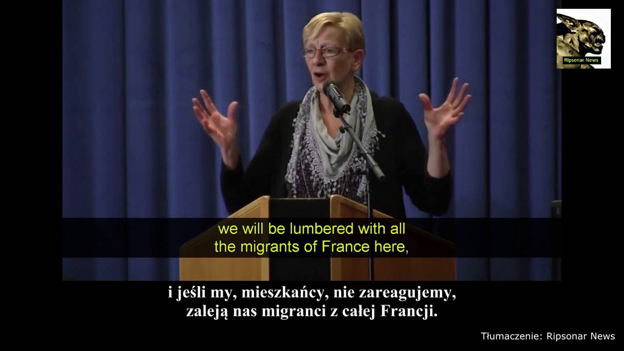 Wypowiedź mieszkanki Calais. To jest śmierć zachodniej cywilizacji