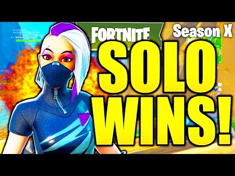 HOW TO GET MORE SOLO WINS IN FORTNITE SEASON 10! HOW TO GET BETTER AT FORTNITE SEASON X TIPS!