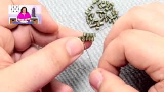 Stitches: Flat Brick Stitch