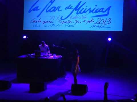 La Mala Rodriguez. Clausura La Mar de Músicas 2013