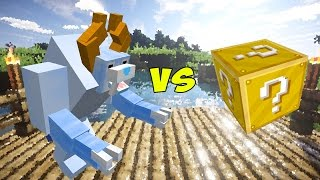 ABOMINÁVEL HOMEM DAS NEVES VS. LUCKY BLOCK (MINECRAFT LUCKY BLOCK CHALLENGE)