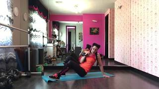 Kettlebell Bombshell beginner workout