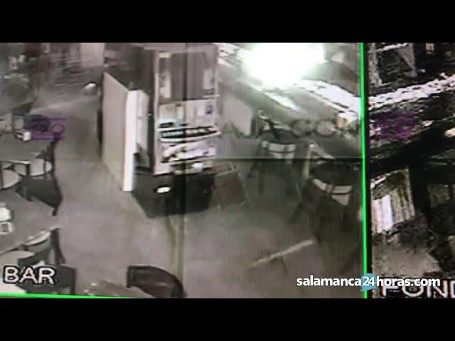Entran a robar en un establecimiento de San José