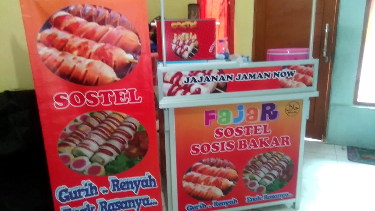 franchise usaha 6jt 2 usaha sekaligus sosis bakar sostel sosis telor youtube sostel sosis telor