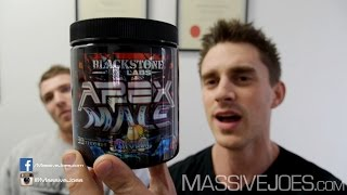 Blackstone Labs APEX Male FOLLOW UP Review - MassiveJoes.com RAW REVIEW Test Testosterone Booster
