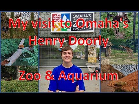 My visit to Omaha's Henry Doorly Zoo & Aquarium - VLOG 14