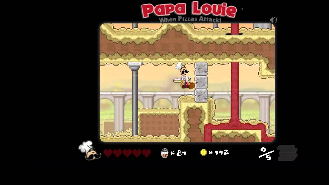 papa louie 1 when pizzas attack
