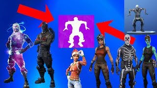 Fortnite Breakdown Emote on the REAREST Skins! (Skull Trooper,Ghoul Trooper,Renegade Raider)
